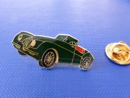 Pin´s Jaguar XK150 - XK 150 - Voiture Verte (JD57) - Jaguar