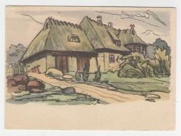 GOOD ESTONIA Postcard 1961 - Taebla - Laikmaa Museum - Estonie