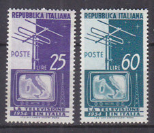 PGL CW215 - ITALIA REPUBBLICA SASSONE N°735/36 ** - 1946-60: Ungebraucht
