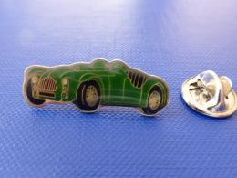 Pin´s Voiture Ancienne - Verte - Jaguar Bugatti (JD59) - Jaguar