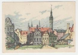GOOD ESTONIA Postcard 1959 - Tallinn - Kullassepa Street - Estonia