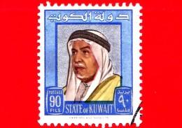KUWAIT - Usato -  1964 - Shaikh Abdullah Salim - 90 - Kuwait