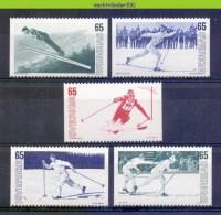 Mtz070 SPORTS SKIEËN SKIING  LANGLAUFEN SVERIGE 1974 PF/MNH # - Skisport