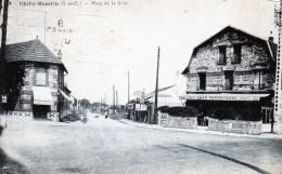91 Chilly-Mazarin Place De La Gare 1936 - Chilly Mazarin