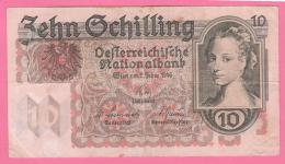 Austria Zehn Schilling 1946 10 Scellini - Austria