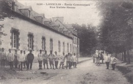 LANNILIS : L´Ecole Communale - Cantonnement Militaire - 1916 - Peu Courant - Altri Comuni