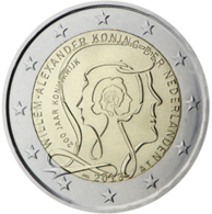 Netherlands 2 Euro Comm. 2013 UNC - Pays-Bas