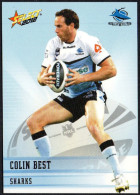 RUGBY - AUSTRALIA - SELECT 2012 - NRL TELSTRA PREMIERSHIP - COLIN BEST - SHARKS - Rugby