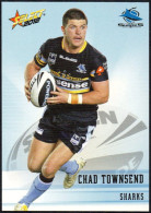 RUGBY - AUSTRALIA - SELECT 2012 - NRL TELSTRA PREMIERSHIP - CHAD TOWNSEND - SHARKS - Rugby