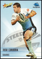 RUGBY - AUSTRALIA - SELECT 2012 - NRL TELSTRA PREMIERSHIP - JOSH CORDOBA - SHARKS - Rugby