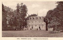 CPA PARENNES 72 Chateau De Courtemanche - Altri Comuni