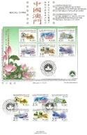 1999 - Macao 985/90 Ritorno Alla Cina - Folder, - 1999-... Regione Amministrativa Speciale Della Cina