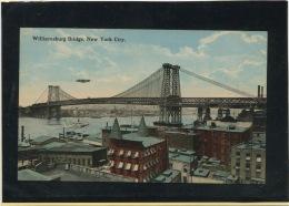 CPA - USA - NEW YORK  - WILLIAMSBURG BRIDGE - Ponts & Tunnels