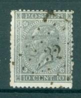 """BELGIE - OBP Nr 17  - Leopold I - Puntstempel  Nr 32 """"BEAUMONT"""" (ref. ST-213) - Postmarks - Points"""