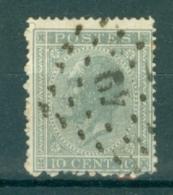 """BELGIE - OBP Nr 17A  - Leopold I - Puntstempel  Nr 49 """"BOUSSU"""" (ref. ST-215) - Postmarks - Points"""