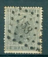 """BELGIE - OBP Nr 17A - Leopold I - Puntstempel  Nr 53 """"BRAINE-LE-COMTE"""" (ref. ST-216) - Postmarks - Points"""