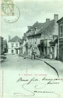 MANSIGNE - Rue Principale Villageois Matériel Agricole Maréchal Ferrant Et Sa Forge - France