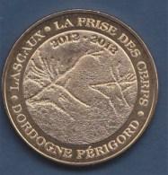 Jeton Lascaux La Frise Des Cerfs Dordogne Périgord 2012-2013 Monnaie De Paris 2012 - Monnaie De Paris