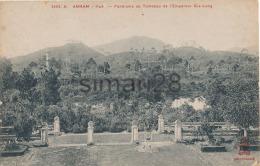 HUE - N° 1093 - PANORAMA AU TOMBEAU DE L'EMPEREUR GIA-LONG - Vietnam