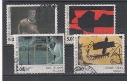 France - N° 2779 à 2782 Oblitérés - Série Art Contemporain - Gebraucht