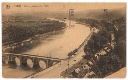 CPA : NAMUR Pont De Jambes, Vue Vers La Plaine De Jambes Et Vue Vers Casino Et La Plante - Namur