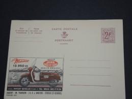 BELGIQUE - Entier Carte Postale Illustrée PUB Vierge - Manet - A Voir - P17562 - Armoiries