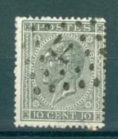 """BELGIE - OBP Nr 17A  - Leopold I - Puntstempel  Nr 77 """"CHARLEROY"""" (ref. ST-223) - Postmarks - Points"""