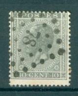 """BELGIE - OBP Nr 17A - Leopold I - Puntstempel  Nr 78 """"CHATELINEAU"""" (ref. ST-224) - Postmarks - Points"""