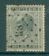 """BELGIE - OBP Nr 17A  - Leopold I - Puntstempel  Nr 83 """"CINEY"""" (ref. ST-225) - Marcophilie"""