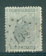 """BELGIE - OBP Nr 17  - Leopold I - Puntstempel  Nr 132 """"FONTAINE-L'EVEQUE"""" (ref. ST-230) - Postmarks - Points"""