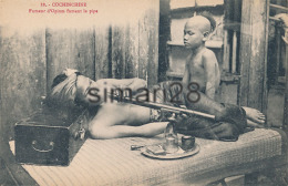 COCHINCHINE - N° 88 - FUMEUR D'OPIUM FUMANT LA PIPE - Viêt-Nam
