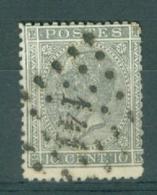 """BELGIE - OBP Nr 17  - Leopold I - Puntstempel  Nr 141 """"GAND"""" (ref. ST-232) - Postmarks - Points"""