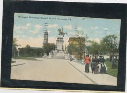 CPA - USA - VIRGINIE - WASHINGTON MONUMENT, (CAPITOL SQUARE), RICHMOND - Richmond