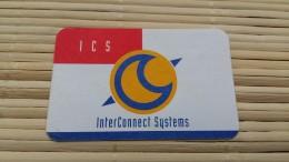 Prepaidcard ICS Carton 50 Units  Belgium Used Rare 2 Scans See Quality Card - Belgium