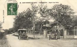 96666 - Saint Honoré Les Bains    Vaux Martin  (58) Départ Des Autos - Saint-Honoré-les-Bains