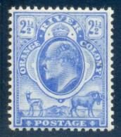 Orange Free State 1903. 2½d Bright Blue (wmk.CA). SACC 87*, SG 142*. - Sud Africa (...-1961)