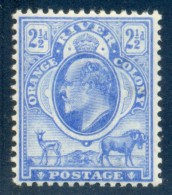 Orange Free State 1903. 2½d Bright Blue (wmk.CA). SACC 87*, SG 142*. - Oranje-Freistaat (1868-1909)