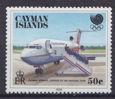 1988 CAÏMANES, ÎLES Cayman Islands  ** MNH Avions Airplane Aircraft Flugzeug  [DI67] - Flugzeuge