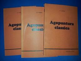 M#0P59 U.Lanza AGOPUNTURA CLASSICA 3 Vol. Rivista It.di Medicina Orientale Ed. - Gesundheit