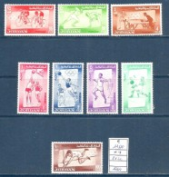 1964 GIORDANIA  Tokio   Giochi Olimpici  Serie Cpl Nuova ** MNH - Estate 1964: Tokio