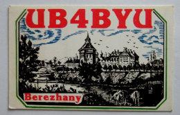 Kt 728 / QSL Radio Amateur Card, Ukraine, Berezhany - Radio Amateur