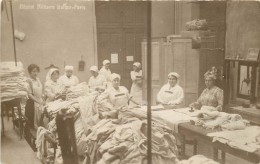 PARIS - Hôpital Militaire Buffon. (lingerie, Repassage). - Health, Hospitals