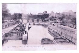 PARIS  L ECLUSE DE LA MONNAIE ET LE LOUVRE - La Seine Et Ses Bords