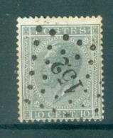 """BELGIE - OBP Nr 17A  - Leopold I - Puntstempel  Nr 152 """"GOSSELIES"""" (ref. ST-234) - Postmarks - Points"""