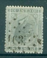 """BELGIE - OBP Nr 17  - Leopold I - Puntstempel  Nr 163 """"HAL"""" - (ref. ST-236) - Postmarks - Points"""