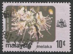 Malacca (Malaysia). 1979 Flowers. 10c Used SG 85 - Malaysia (1964-...)