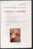 Album Catalogue 1925-26 De LA MAISON DES ROSES  (Orléans) (CAT 386) - France