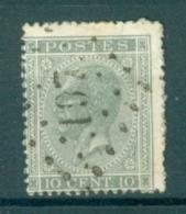 """BELGIE - OBP Nr 17A  - Leopold I - Puntstempel  Nr 197 """"JEMEPPE"""" - (ref. ST-240) - Postmarks - Points"""