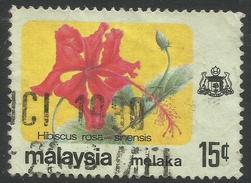 Malacca (Malaysia). 1979 Flowers. 15c Used SG 86 - Malaysia (1964-...)