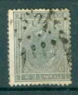 """BELGIE - OBP Nr 17  - Leopold I - Puntstempel  Nr 204 """"LA LOUVIÈRE"""" - (ref. ST-241) - Postmarks - Points"""